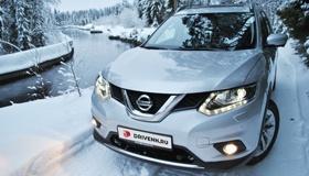 Nissan X-Trail: В снегах Карелии