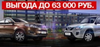 Chery Трейд-ин. Выгода до 63 000 рублей