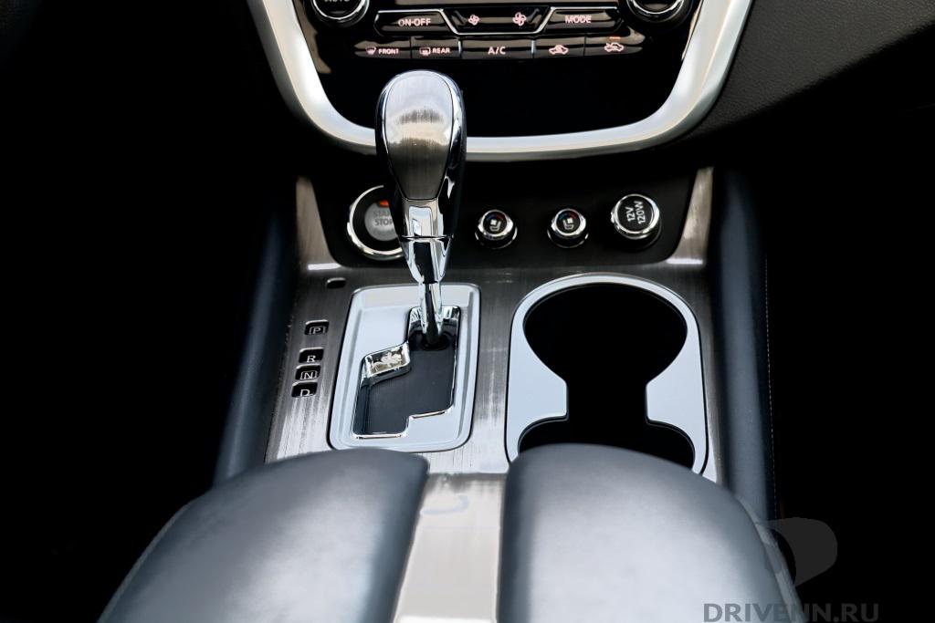 Nissan Murano интерьер фото