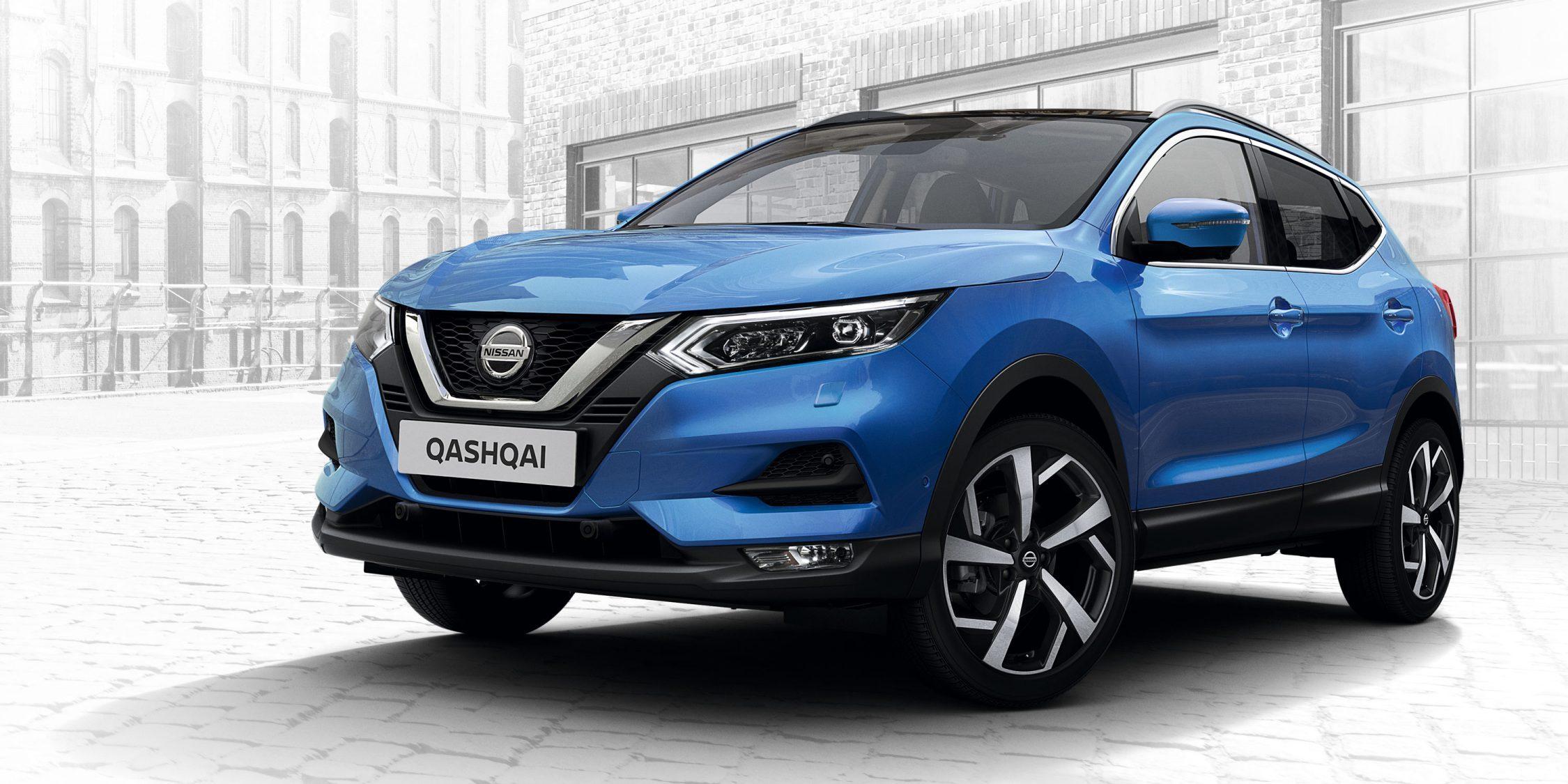1 место - Nissan Qashqai